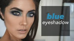 how to wear a pop of color or just blue eyeshadow melissa alatorre you