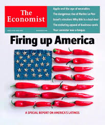 economist cover the economist runs cover story equating latinos to chili peppers