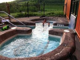 hope lake lodge u0026 conference center outdoor hot tub outdoor h23