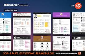 Clean ResumeCV Builder Resume Templates Creative Market New Creative Resume Builder