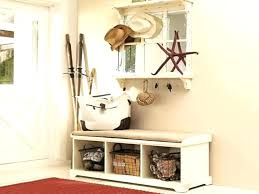 Hallway Coat Rack And Bench Beauteous Entryway Coat Rack With Storage Hallway Coat Rack Mudroom Narrow