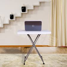 simple can lift portable folding table computer desk children small bedside plastic in computer desks from furniture on aliexpress com alibaba group