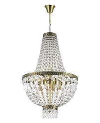 metropolitan collection 6 light antique bronze finish and clear crystal chandelier 16 d