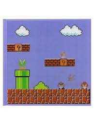 Super Mario Brothers Notebooks 1 Lined 1 Blank 1 Graph Paper