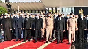 صور.. كواليس حضور الرئيس السيسي جنازة السيدة جيهان السادات