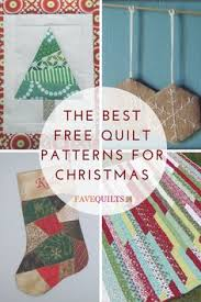 Deck the Halls: 8 Free Christmas Quilt Patterns