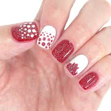 Canada Day Nail Art - Chantal's Corner