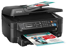Amazon Com Epson Wf 2750 All In One Wireless Color Printer With