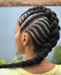 Pin by Tania Sims on Hairstyles   African braids hairstyles, Cornrow  hairstyles, Thick hair styles