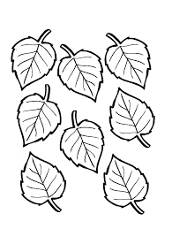 fall leaf coloring page free printable pages leaves crayola autumn