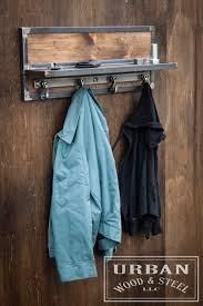 Restaurant Coat Racks Inspiration Wooster Wall Shelf Chain Hook Coat Rack Industrial Restaurant