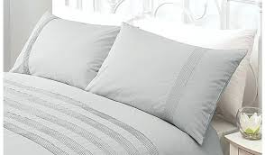 beautiful pleated duvet cover in com unique pinch pleat set 3 pintuck white single astonishing of home cotton grey garden