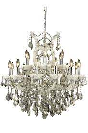 elegant lighting 2800d30wh gt rc 2800 maria theresa collection chandelier d 30in h