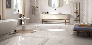 white marble bathroom tiles. Simple Bathroom Marble Floor Tiles Sydney In White Bathroom