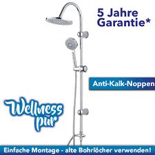 Details Zu Regendusche Duscharmatur Duschsystem Wellness Dusche Chrom Duschkopf Duschsäule