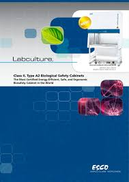 Class Ii Type A2 Biosafety Cabinet Biological Safety Cabinets Labculturer La2 Esco Pdf Catalogue