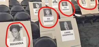 Grammys 2017 Seating Chart Grammys Seating Plan 2018 Who Are All The Biggest Stars