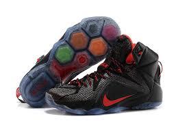 lebron james shoes 12 for kids. nike black red basketball shoes and lebron 12 xii james for kids