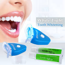 How To Use White Light Tooth Whitening System White Light Tooth Whitening System Blue