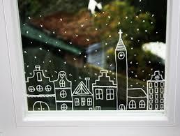 Bildergebnis Für Winterfenster Kreide Deco Noel