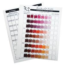 Unison Handmade Color Chart Dakota Art Pastels