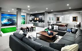 man cave couch man cave with sectional couch indoor golf green and home bar man cave man cave