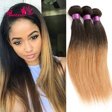 Black Ombre Remy Hair Extensions