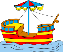 Small Picture Boat Coloring Pages for Kids to Color and Print