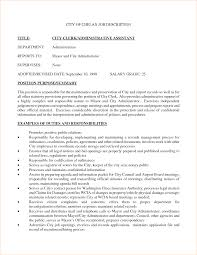Resume For Administration Job Administration Job Description Template Business Proposal 24