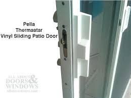 pocket door adjustment sliding glass