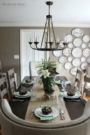 Height Of Dining Room Table Decoration