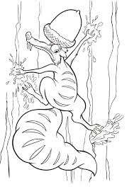 Small Picture Ice Age Coloring Pages Printables for Bebe Pinterest Ice age