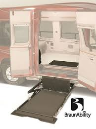 wheelchair lift for van. BraunAbility UVL Wheelchair Lift For Van