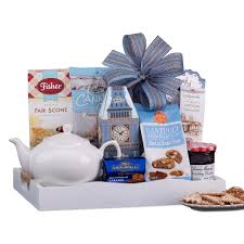 wine country gift baskets holiday tea and breakfast collection gift tray 626 the