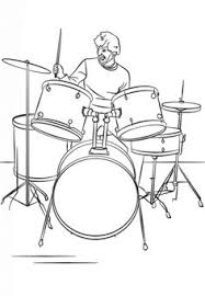 How To Draw A Drum Set Cool How To Draw In 2019 Drums Art