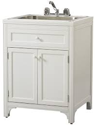 martha stewart living laundry storage utility sink cabinet satisfy all of your laundry storage needs