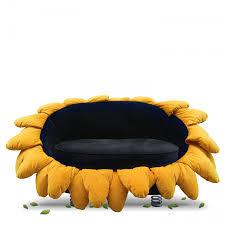 Bretz Pool Sofa Zweisitzer Sunny Gebraucht Gelb Schwarz