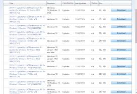 november 2019 net framework 4 8 and 3