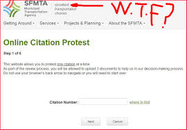Now You Can Protest Your Unfair Sfmta Muni Dpt Sfbc Ticket Online