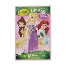 Crayola Giant Colouring Pages Disney Princess Officeworks