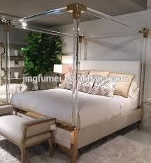 acrylic bedroom furniture. Modern Hotel Bedroom Furniture Crystal Acrylic Bed Frame King Size