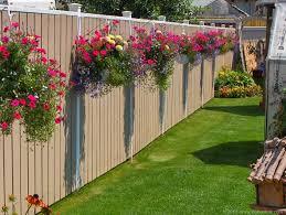 decorating garden fence