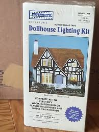 dollhouse lighting. Elect-A-Lite Dollhouse Miniature Lighting Kit Model 125 12 Volt Made In USA