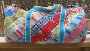 Summer Sewing: 7 Quilted Tote Bag Patterns & Brooksider Duffle Bag Adamdwight.com