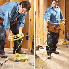 9 tips for easier home electrical wiring the family handyman uncoil cable out kinks