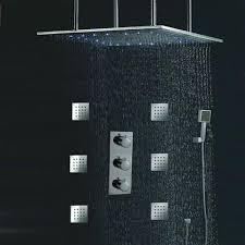 moen rain shower head. Rainfall Shower Head Large Ceiling Rain Moen Lowes