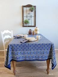 blue table cloth batik tablecloth blue tablecloth designer tablecloth cotton tablecloth tablecloth table saffron marigold blue round tablecloth 60