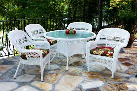 Patio Furniture White Resin home design luxury white garden table