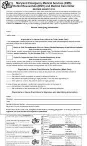 Sample Do Not Resuscitate Form Sample Do Not Resuscitate Form Resume Template Sample 4