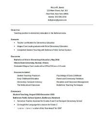 Baby Sitting Resume Interesting Early Childhood Resume Unique Resume Elegant Babysitting Resume Best